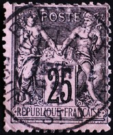 -Sage N°97 Type Ll. O BORDEAUX Cours St Jean. - 1876-1898 Sage (Type II)