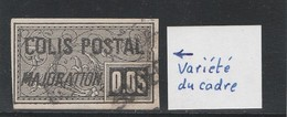 Colis Postaux - N° 17 VARIETE Du Cadre Droit - TTB - Parcel Post