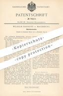 Original Patent - Wilhelm Barheine , Magdeburg , 1893 , Metallabschneider   Metall - Abschneider   Schneidwerkzeug !!! - Historische Dokumente