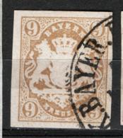 Germania Baviera 1867 Unif.20 O/used VF/F - Bayern (Baviera)