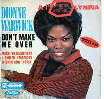 Disque De Dionne Warwick - Don't Make Me Over - Vogue ELP. 8748 - 1963 - - Soul - R&B
