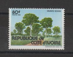 Cote D'Ivoire 1982 Paysage 646A 1 Val Neuf ** MNH - Côte D'Ivoire (1960-...)