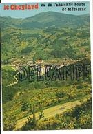 France. Ardèche. Le Cheylard Vu De L'ancienne Route De Mézilhac. Vue Panoramique. Editions J. Cellard - Le Cheylard