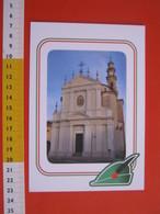 G.2 ITALIA ARBORIO VERCELLI CARD NUOVA 2016 100 ANNI GRANDE GUERRA ALPINI CHIESA SAN MARTINO - OPACA - Eglises Et Cathédrales
