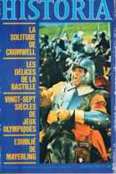Historia - N°356 - Juillet 1976 - La Fayette Mayerling Cromwell Lindbergh Flaubert Bastille Rommel Le Faucon Colonialism - Histoire