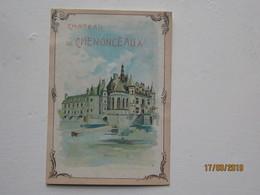 """LE/AJ - Chromo """" A La Trinité """" à Paris :château De Chenonceaux  -1890-1900 - Cromos"""