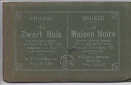 CARNET BELGIQUE BRUGES La Maison Noire 10 VUES COMPLET - Brugge
