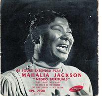 Disque De Mahalia Jackson Vol 2 - Négro Spirituals - Vogue ELP. 7108 - 1955 - - Gospel & Religiöser Gesang