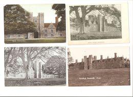 THREE OLD POSTCARDS OF KNOLE KNOLE HOUSE PARK ETC Nr SEVENOAKS KENT - England