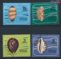 Tokelau Gestempelt Porzellanschnecken 1974 Porzellanschnecken  (9294130 - Tokelau