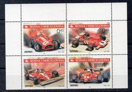 BOSNIE HERZEGOVINE  Timbres * *  De 2001 ( Ref 6272 )  Sport Automobile - Ferrari - Bosnie-Herzegovine