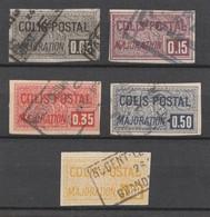 Colis Postaux - N° 23 à 27 - Série Complète 5 Valeurs - TTB - Parcel Post