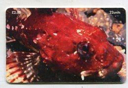 TK 00169 ISLE OF MAN - Chip Scorpion Fish - Man (Eiland)