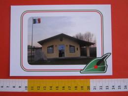 G.2 ITALIA ARBORIO VERCELLI CARD NUOVA 2016 100 ANNI GRANDE GUERRA SEDE GRIUPPO ALPINI - LUCIDA - Storia