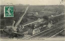 - Finistère -ref-E162- La Roche Maurice - Vue Sur La Vallée De L Elorn -lignes De Chemin De Fer - Carte Bon Etat - - La Roche-Maurice
