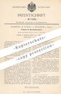 Original Patent - Scheffel & Schiel , Mülheim / Ruhr , 1893 , Triebwerk Für Wurststopfmaschine   Schlachter , Fleischer - Historische Dokumente