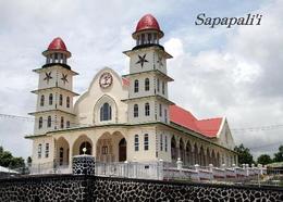 Samoa Sapapali'i Church New Postcard - Samoa