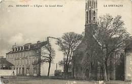 - Finistère -ref-E161- Benodet - L Eglise - Le Grand Hotel - Hotels - - Bénodet