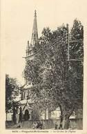 - Finistère -ref-E160-  Plogastel Saint Germain - Plogastel St Germain - Clocher De L Eglise - Carte Bon Etat - - Autres Communes