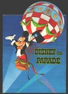 Disney - Brochure 28 Pag. Disney On Parade Antwerpen - 1973 + 2 Entrée Tickets + Flyer - Programmes