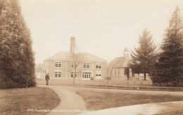 Eugene Oregon, University Of Oregon Electrical Engineering Building, College Campus C1910s Vintage Real Photo Postcard - Eugene
