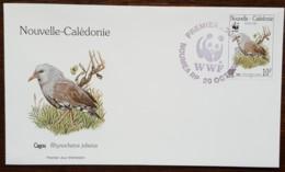 Nouvelle-Calédonie - FDC 1998 - YT N°769 - Protection De La Faune / Le Cagou - FDC