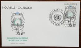 Nouvelle-Calédonie - FDC 1998 - YT N°775 - Déclaration Universelle Des Droits De L'Homme - FDC