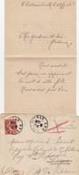 LETTRE. 1908. VAR DRAGUIGNAN. TARDIF BOITE RURALE A = CHATEAUDOUBLE POUR DIGNE REDIRIGEE PUY STE REPARADE PRES PERTUIS/3 - Poststempel (Briefe)
