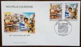 Nouvelle-Calédonie - FDC 1998 - YT N°776, 777 - OPT / Office Des POstes Et Télécommunications - FDC