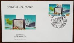 Nouvelle-Calédonie - FDC 1998 - YT N°778 - Disparition De La Monique - FDC