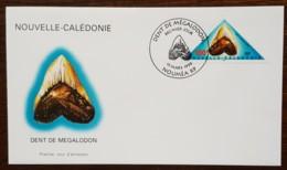 Nouvelle-Calédonie - FDC 1999 - YT N°783 - Préhistoire / Dent De Mégalodon - FDC