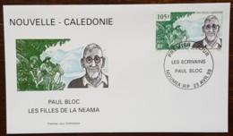 Nouvelle-Calédonie - FDC 1999 - YT N°791 - Les écrivains / Paul Bloc - FDC