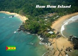 Sao Tome And Principe Bom Bom Island New Postcard - Sao Tome Et Principe