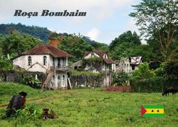 Sao Tome And Principe Roca Bombaim New Postcard - Sao Tome Et Principe