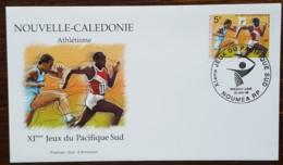 Nouvelle-Calédonie - FDC 1999 - YT N°792 - Jeux Du Pacifique Sud / Sport / Athlétisme - FDC