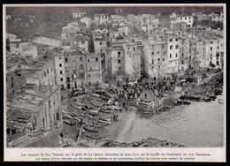 1922  --  SAN TERENZO GOLFE DE LA SPEZIA  APRES L EXPLOSION DE FALCONARA  3R041 - Vecchi Documenti