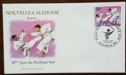 Nouvelle-Calédonie - FDC 1999 - YT N°794 - Jeux Du Pacifique Sud / Sport / Karaté - FDC