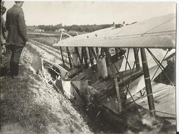 Photo - Grande Guerre - Lemmes Meuse - 55 - Accident D'avion - Aviation - Aéroplane - Guerre, Militaire