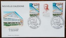 Nouvelle-Calédonie - FDC 1999 - YT N°798 - Lycée Professionnel Auguste Escoffier - FDC