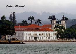 Sao Tome And Principe Sao Tome City Waterfront New Postcard - Sao Tome And Principe