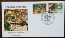 Nouvelle-Calédonie - FDC 1999 - YT N°800, 802 - Hôtellerie Et Restauration - FDC