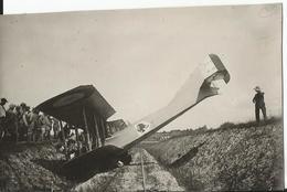 Photo - Grande Guerre - Lemmes Meuse - 55 - Accident D'avion - Aviation - Aéroplane Militaire - Guerre, Militaire