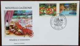 Nouvelle-Calédonie - FDC 1999 - YT N°801, 803 - Hôtellerie Et Restauration - FDC