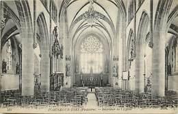 - Finistère -ref-E154-  Plouneour Trez - Interieur De L Eglise - Carte Bon Etat - - Autres Communes