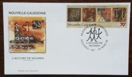 Nouvelle-Calédonie - FDC 1999 - YT N°805 - L'Accord De Nouméa - FDC