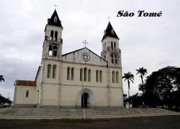 Sao Tome And Principe Sao Tome City Cathedral New Postcard - Sao Tome Et Principe
