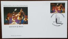Nouvelle-Calédonie - FDC 1999 - YT N°806 - Spectacle âji âboro / Centre Culturel Tjibaou - FDC