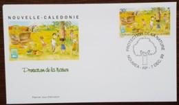 Nouvelle-Calédonie - FDC 1999 - YT N°807 - Protection De La Nature / Touche Pas à Mon Arbre! - FDC