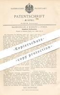 Original Patent - Baldensperger & Bormann , Zürich , 1898 , Umlaufende Kraftmaschine   Motor , Motoren   Dampfmaschine - Historische Dokumente