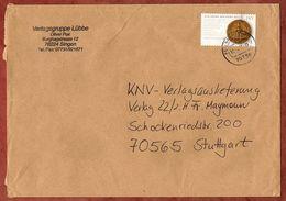 Brief, EF Goldene Bulle Sk, Fellbach Nach Stuttgart 2006 (70921) - BRD
